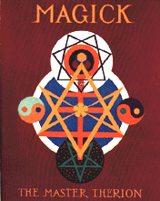 [ilustração: «Magick in theory and practice». Master of Therion (Aleister Crowley). ]